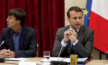 La démission de Nicolas Hulot, coup dur  pour Emmanuel Macron