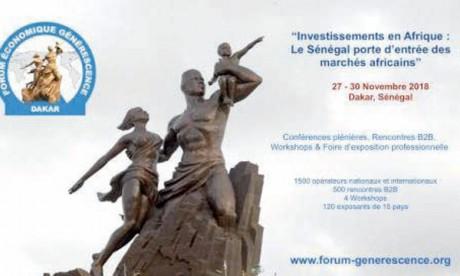 Le Maroc invité d'honneur  du 1er Forum économique  Générescence, en novembre