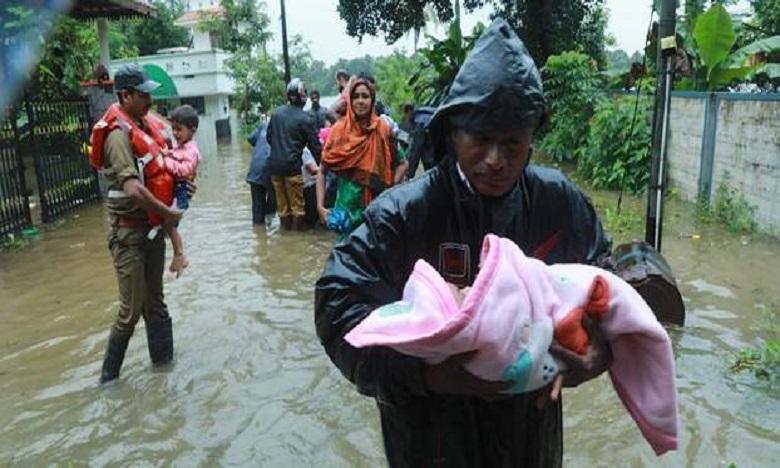 Inde : 87 morts dans les inondations de Kerala