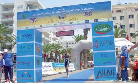Plus de 300 triathloniens attendus sur la ligne de départ de l'étape de Mohammedia