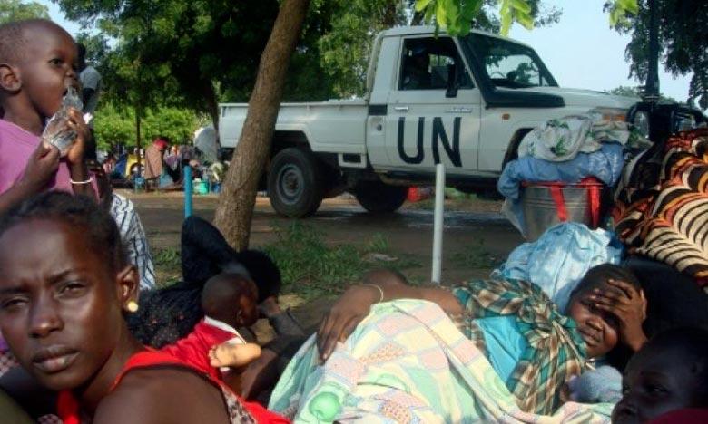 Le Soudan du Sud est plongé dans la guerre civile depuis décembre 2013, suite au conflit qui a éclaté entre le président Silva Kiir et Riek Machar, qui était à l'époque vice-président. Ph : AFP