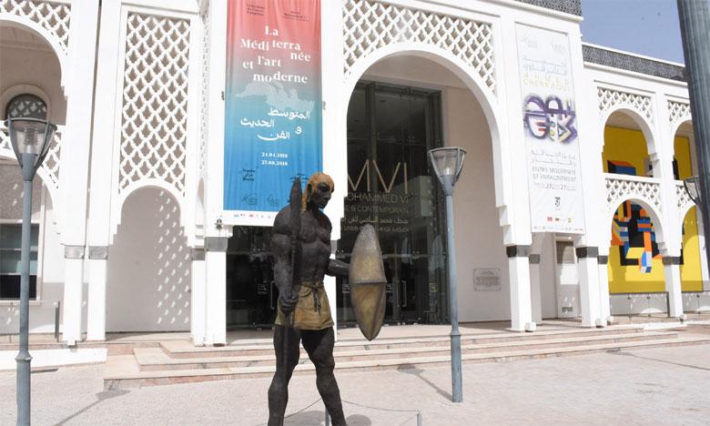 L'intégration de la sculpture d'Ousmane Sow dans les collections du Musée Mohammed VI est un symbole de l'africanité revendiquée du Maroc.Ph. Saouri