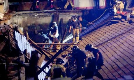 Espagne: plus de 250 blessés dans l'effondrement d'une plateforme en marge d'un festival