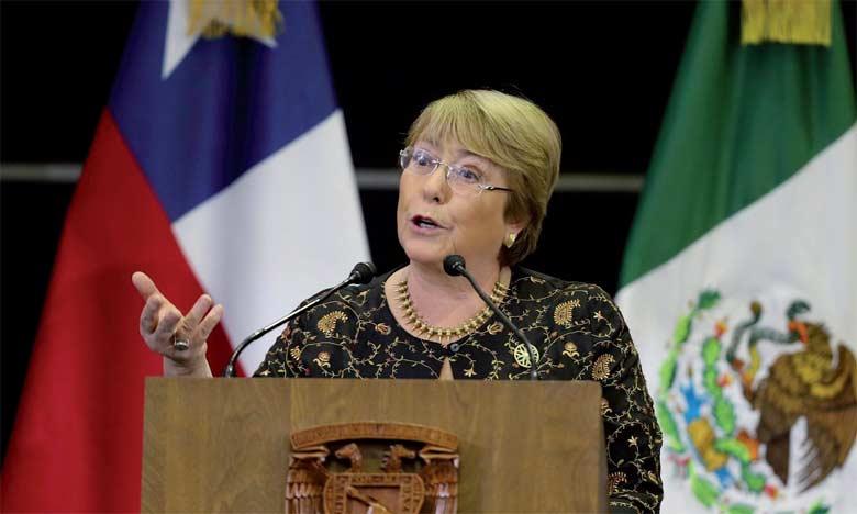 Michelle Bachelet, 66 ans, a été la première directrice d'ONU Femmes, l'agence des Nations unies promouvant l'égalité entre femmes et hommes, à sa création, en 2010.