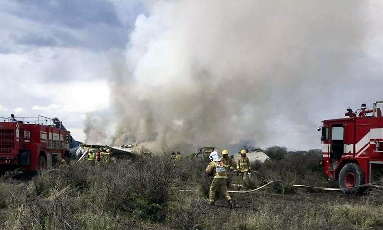 Juste après avoir décollé, un avion de la compagnie Aeromexico s'est écrasé dans le nord du Mexique, faisant environ 80 blessés. Ph : DR