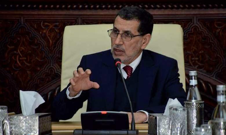 Le département du Chef du gouvernement souligne la nécessité de l'intensification de la mobilisation pour mettre en œuvre les Hautes Orientations Royales