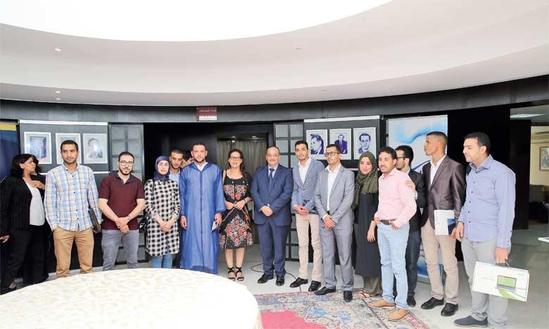 Les récompenses ont été remises lors d'une cérémonie marquée par la présence du ministre de la Culture et de la communication, Mohamed Laaraj. Ph. MAP