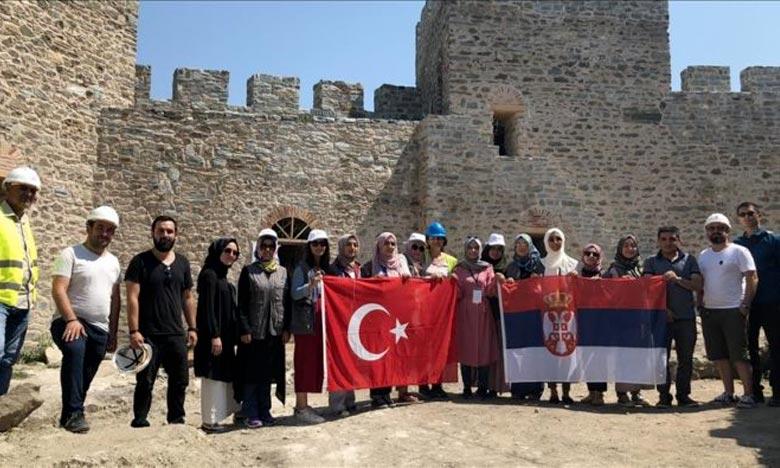 Pour le programme de partage d'expériences de 2018, quelque 500 étudiants turcs de 117 universités sont envoyés par la Tika dans 30 pays entre le 29 juillet et le 8 septembre. Ph : DR