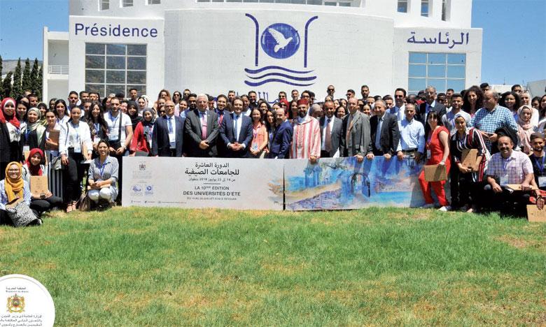 Pas moins de 260 jeunes MRE prennent part à des ateliers et des conférences-débats à Tétouan