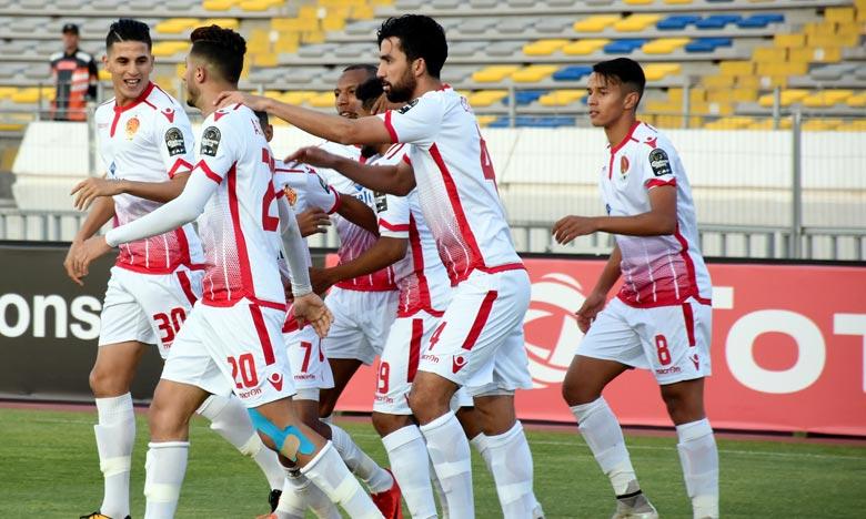 Le Wydad Athletic Club de Casablanca (WAC) a terminé la phase de poules avec 12 points suite à 3 victoires et autant de matches nuls. Ph : Seddik