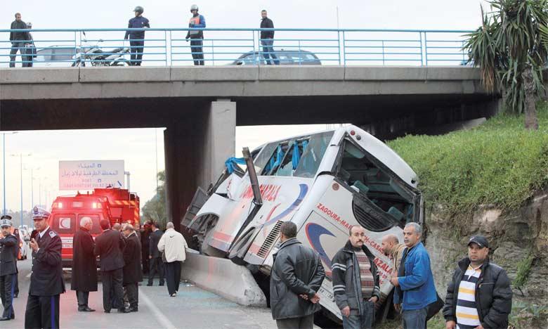 Recrudescence des accidents  de la circulation en milieu urbain