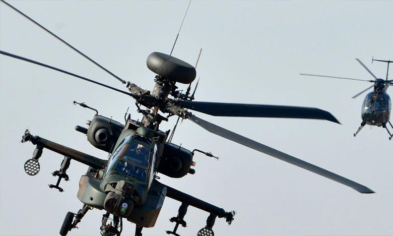 L'appareil de la sécurité civile effectuait un vol d'entraînement dans une zone montagneuse du centre du Japon. Ph : DR