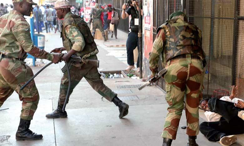 Après ces violences qui ont coûte la vie à trois manifestants, le gouvernement a prévenu qu'il ne «tolérerait» aucune contestation.  Ph. DR
