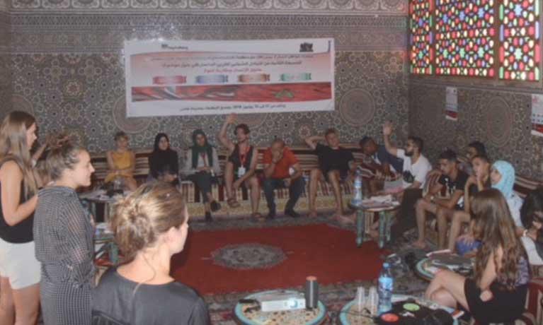 Échanges entre jeunes danois  et marocains sur les droits  humains et l'approche genre