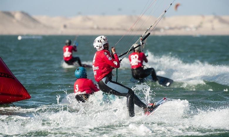 Cet événement sportif est organisé par l'Association marocaine de kitesurf (AMKS), sous l'égide de la Fédération royale marocaine de voile (FRMV). Ph : DR