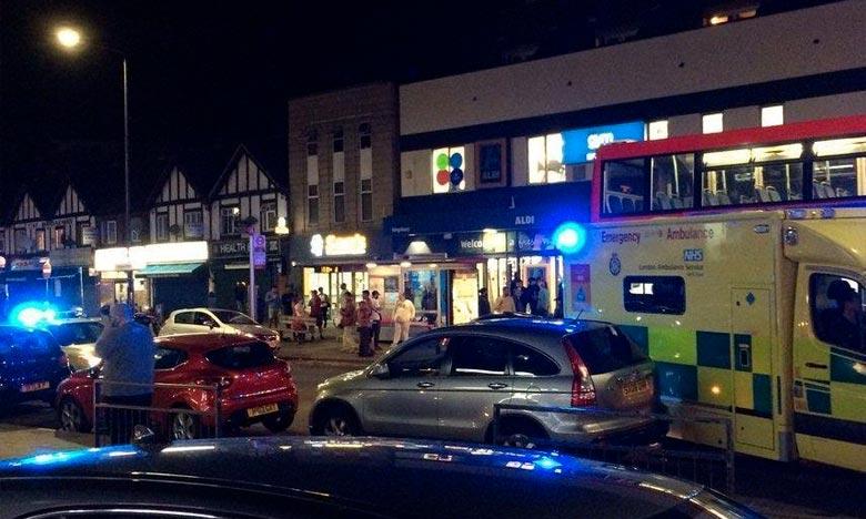 Le service d'ambulance de Londres a confirmé que trois blessés avaient été transportés en urgence à l'hôpital. Cette fusillade est survenue quelques heures après une autre fusillade devant une école dans l'ouest de Londres. Ph : DR