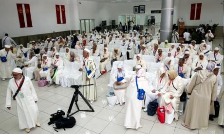 Les pèlerins marocains accomplissent le rite en toute sérénité