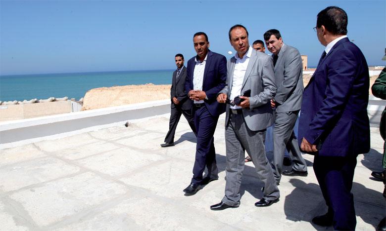 Abdelkader Amara s'informe de l'état d'avancement de plusieurs projets
