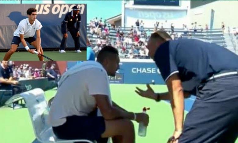 Tennis: l'arbitre qui avait remotivé Kyrgios à l'US Open suspendu