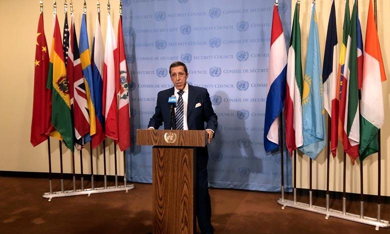 Omar Hilale, ambassadeur et représentant permanent du Maroc auprès des Nations unies à New York. Ph : DR
