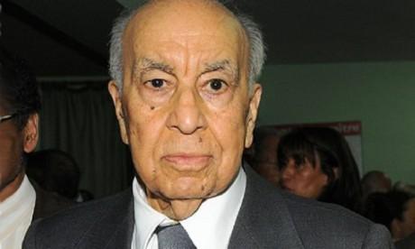 Funérailles à Casablanca de Mohammed Karim Lamrani en présence de S.A.R. le Prince Moulay Rachid