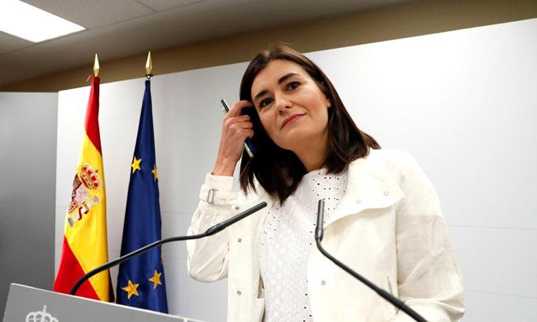 Carmen Montón a souligné qu'elle a présenté sa démission afin que son cas n'ait pas d'influence sur le gouvernement de Pedro Sanchez. Ph : DR