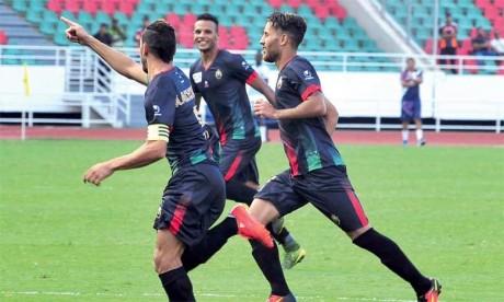 L'équipe de l'AS FAR signe sa première victoire en championnat après avoir perdu en première journée contre le Difaâ Hassani d'El Jadida. Ph : DR