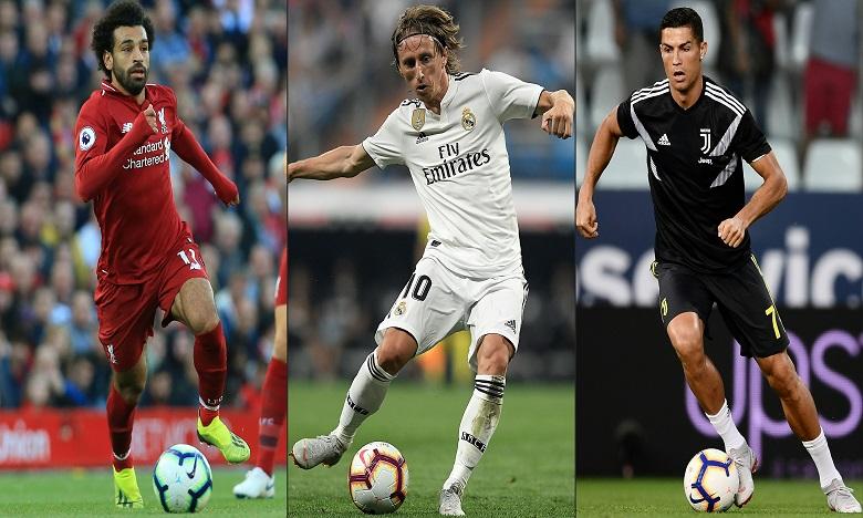 L'un de ces trois joueurs sera élu footballeur de l'année
