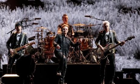 Le groupe irlandais U2 reprend sa tournée européenne