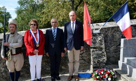 Cérémonie en hommage aux soldats marocains tombés lors de la première bataille de la Marne
