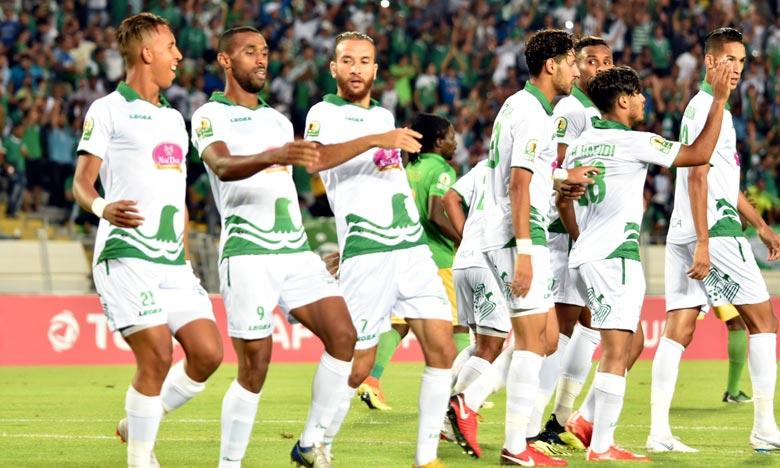 En huitièmes, le Raja de Casablanca affrontera le KAC de Kénitra qui a validé son billet plutôt dans la journée grâce à un large succès face au Chabab Rif d'Al-Hoceima (4-0). Ph : Seddik