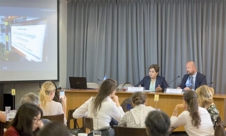 «Chaque année, les effets du changement climatique s'aggravent. Cela signifie que chaque année, les plus pauvres et les plus vulnérables, qui n'ont presque en rien contribué au problème, souffrent davantage», a souligné, hier, Patricia Espinosa, secrétaire exécutive de la Convention-Cadre des Nations unies sur le changement climatique.                                                                  Ph. ONU