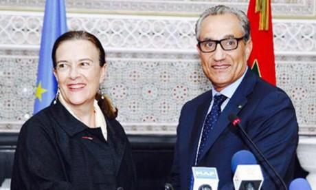 Une délégation d'eurodéputés en visite  de travail au Maroc