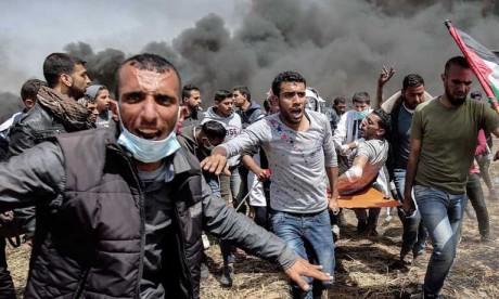 Décès d'un Palestinien  blessé par des tirs  israéliens, 173 morts  depuis mars