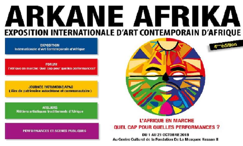Quatrième édition de Arkane Afrika en octobre