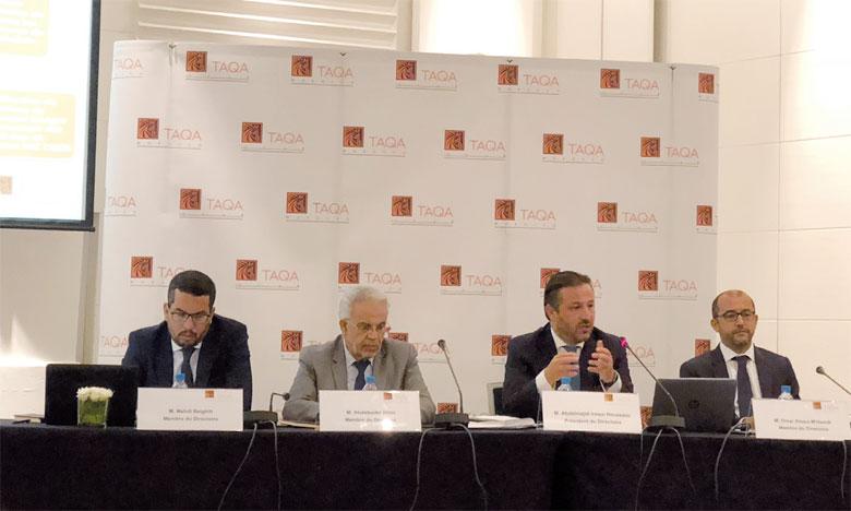 Selon le top management de Taqa Morocco, «globalement le résultat financier du groupe s'est amélioré de 11,9%, suite à l'effort de remboursement  de la dette sur la période et de l'optimisation du placement des excédents de trésorerie». Ph. M.T.