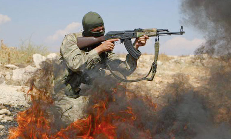 Un combattant rebelle syrien dans la province d'Idlib. Ph. AFP