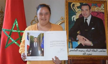 La Marocaine Safaa Nmila, lauréate du Prix spécial du Jury de l'Assiette Gourm'Hand, reçue avec  les honneurs à l'Élysée