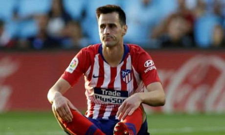 Atlético Madrid: Nikola Kalinic victime d'une entorse de la cheville
