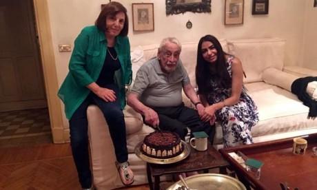 L'acteur franco-égyptien Gamil Rateb, qui a été à l'affiche de nombreux films et pièces de théâtre en Egypte et en France, est mort à l'âge de 92 ans. Ph : DR