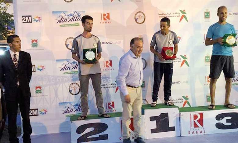 Rachid El Amrani pulvérise  le record du 61km, Mohammed Achtout vainqueur du 31km
