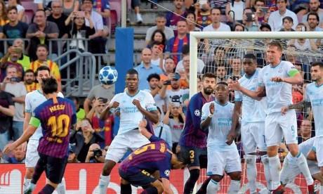 Le Barça, Liverpool et l'Inter démarrent du bon pied