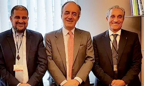 Une délégation de la commission parlementaire mixte Maroc-UE examine les moyens de renforcer le partenariat bilatéral