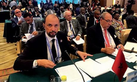Mohcine Jazouli: «La Chine mise  sur le Maroc pour réaliser des projets de développement en Afrique»