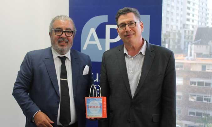 Le directeur général de l'Agence MAP s'entretient avec le patron du Conseil  de presse australien