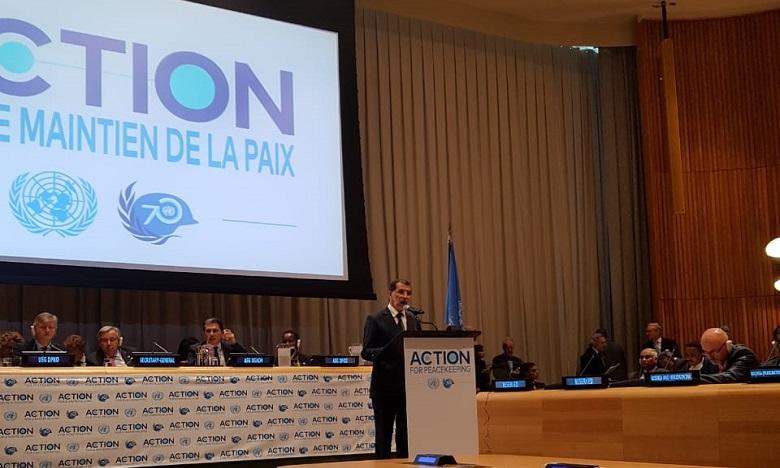 S.M. le Roi adresse un Message à la Réunion de Haut Niveau au siège de l'ONU sur l'«Action pour le maintien de la paix »