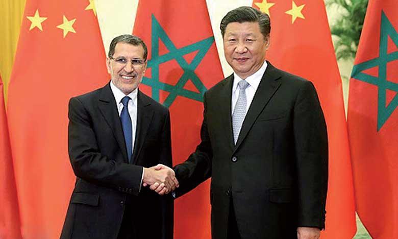 Le Président chinois reçoit à Pékin Saâd Eddine El Othmani qui lui a remis un message écrit de S.M. le Roi Mohammed VI