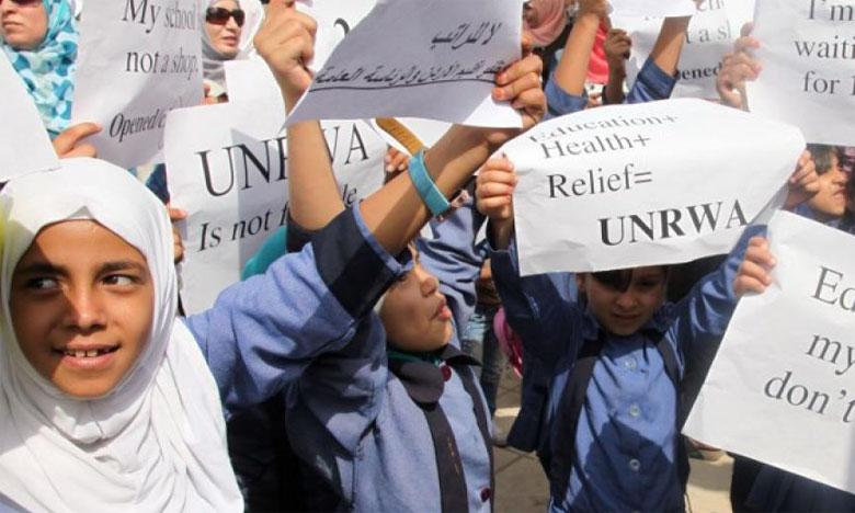 L'ONU regrette l'arrêt du financement américain à l'UNRWA