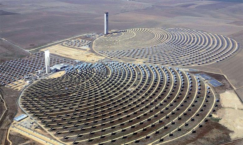 Le choix du jury a été motivé par les projets d'énergies renouvelables tels que, à titre d'exemple, la centrale solaire Noor d'Ouarzazate et le parc éolien de Tarfaya.                                                                                                                               Ph. DR