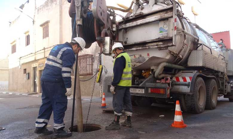 Lydec lance le projet  de la galerie de stockage des eaux pluviales «Hay Sadri»